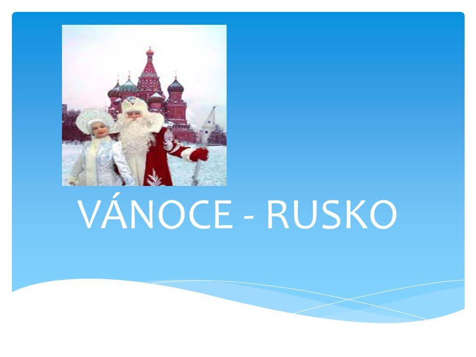 VÁNOCE - RUSKO