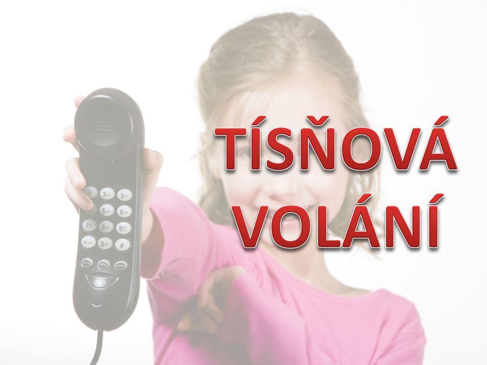 112 156 158 155 150 Záchranná služba Hasiči Policie ČR Tísňové volání Městská policie