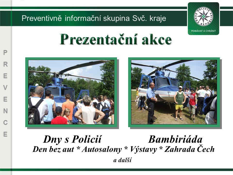 PREVENCEPREVENCE a další Dny s PoliciíBambiriáda Den bez aut * Autosalony * Výstavy * Zahrada Čech