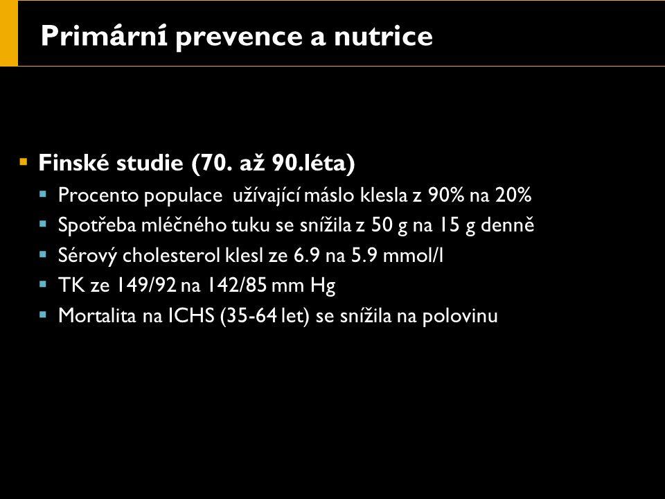 Prim á rn í prevence a nutrice  Finské studie (70.
