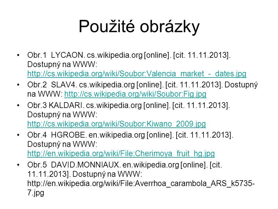 Použité obrázky Obr.1 LYCAON. cs.wikipedia.org [online].