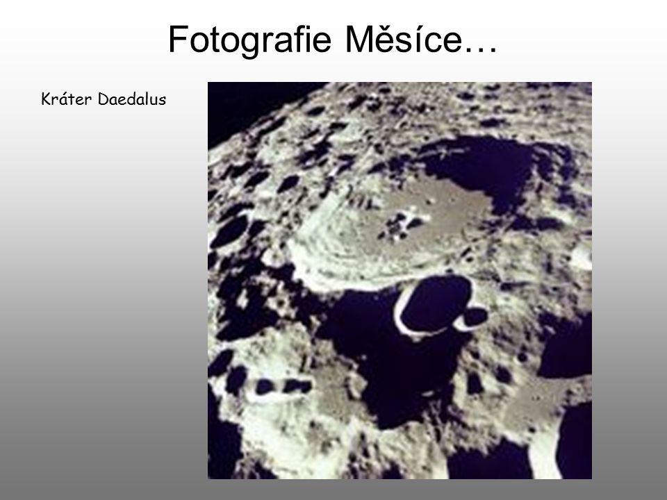 Fotografie Měsíce… Kráter Daedalus