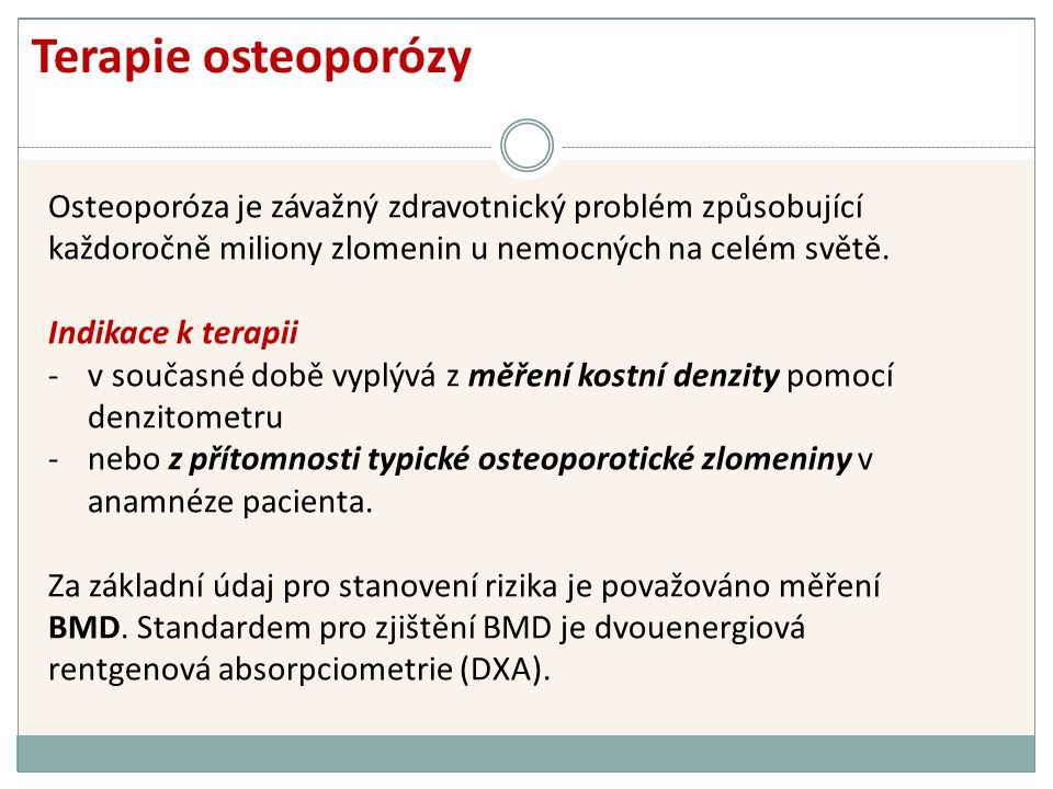 Osteoporóza je závažný zdravotnický problém způsobující každoročně miliony zlomenin u nemocných na celém světě.