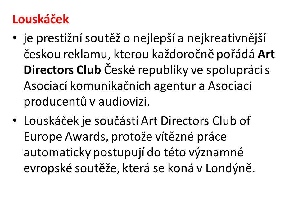 Louskáček je prestižní soutěž o nejlepší a nejkreativnější českou reklamu, kterou každoročně pořádá Art Directors Club České republiky ve spolupráci s Asociací komunikačních agentur a Asociací producentů v audiovizi.