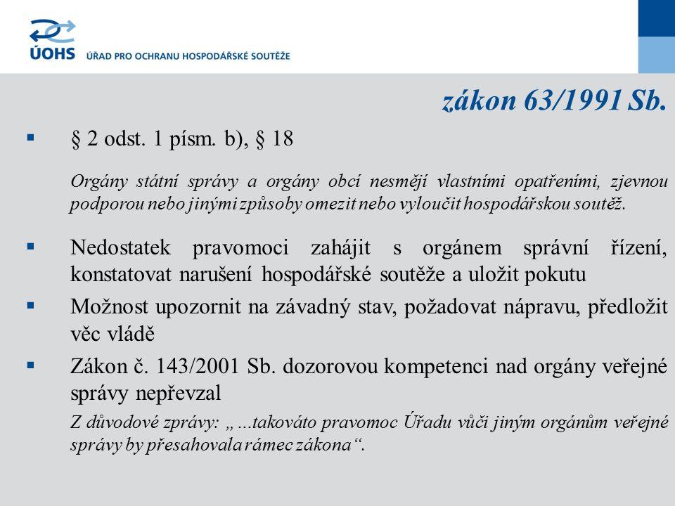 zákon 63/1991 Sb.  § 2 odst. 1 písm.