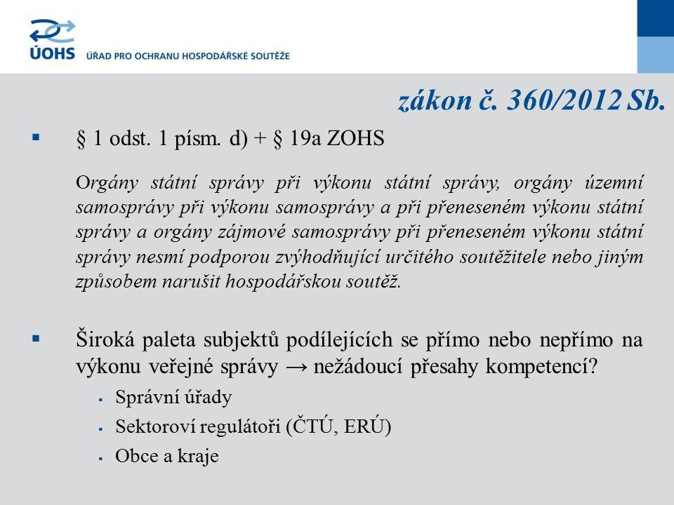 zákon č.360/2012 Sb.