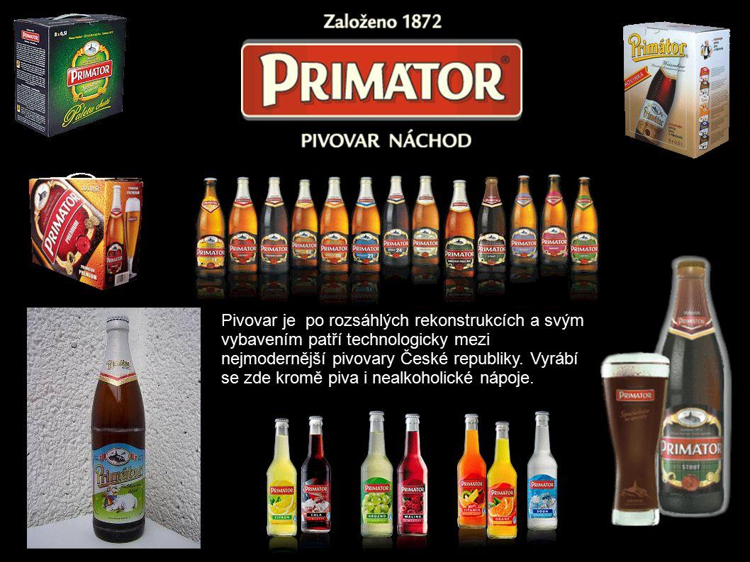 Pivovar je po rozsáhlých rekonstrukcích a svým vybavením patří technologicky mezi nejmodernější pivovary České republiky.