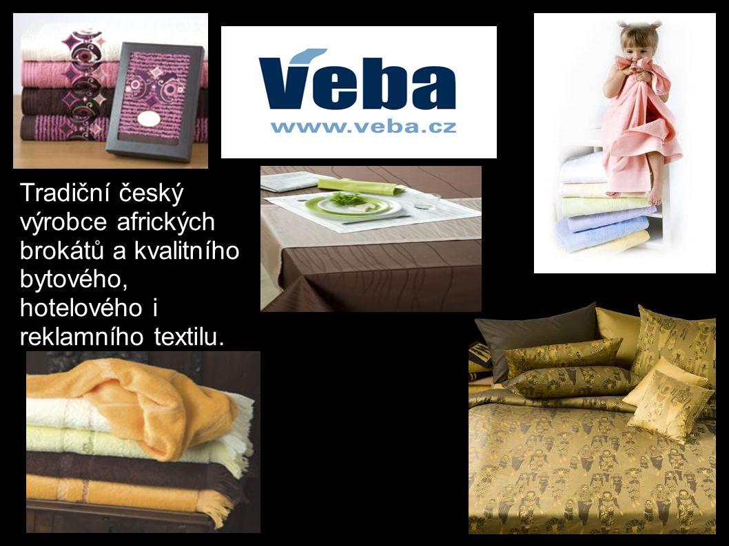 Tradiční český výrobce afrických brokátů a kvalitního bytového, hotelového i reklamního textilu.