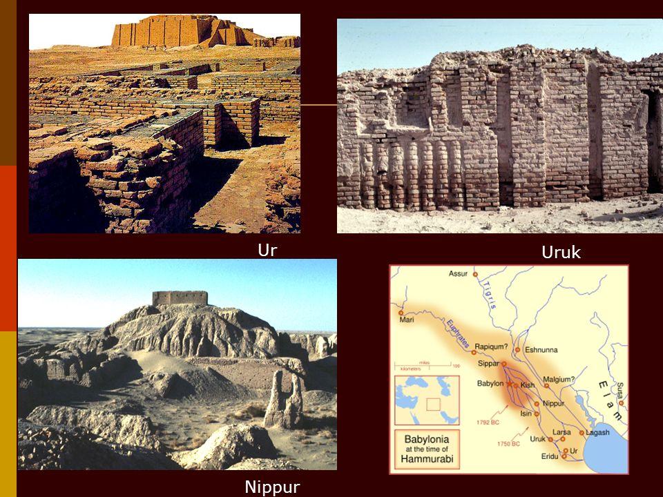 Ur Uruk Nippur