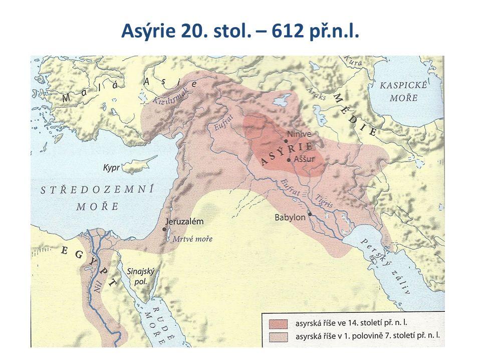 Asýrie 20. stol. – 612 př.n.l.