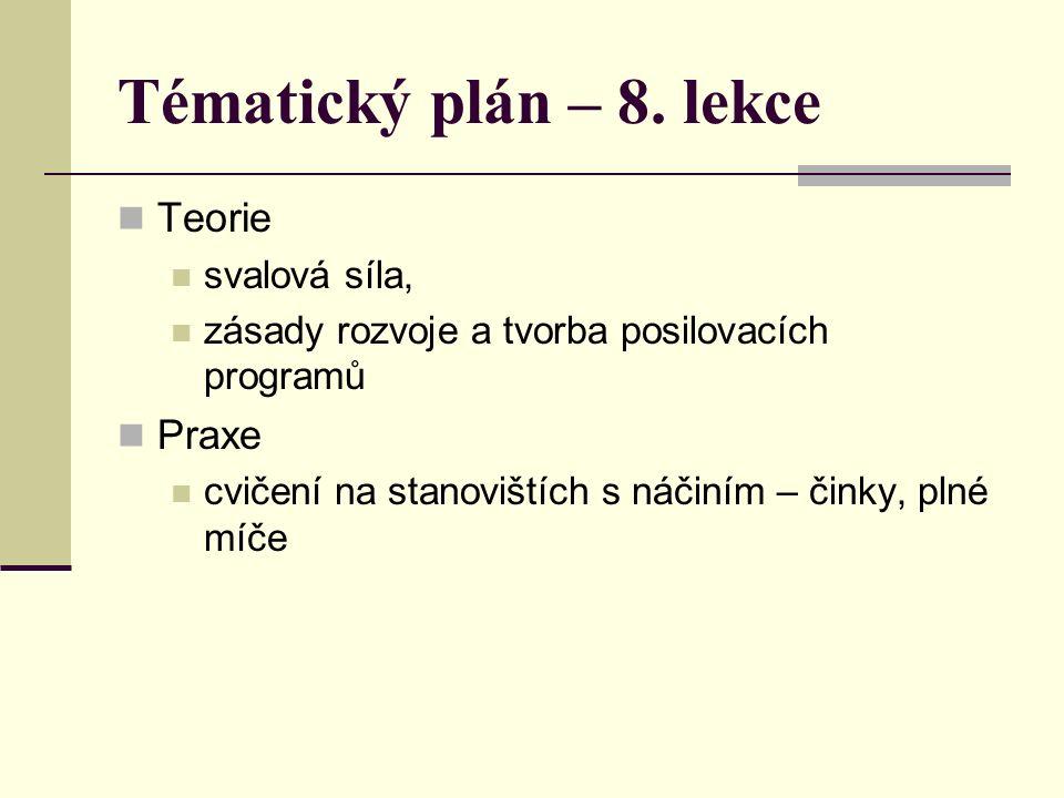 Tématický plán – 8.