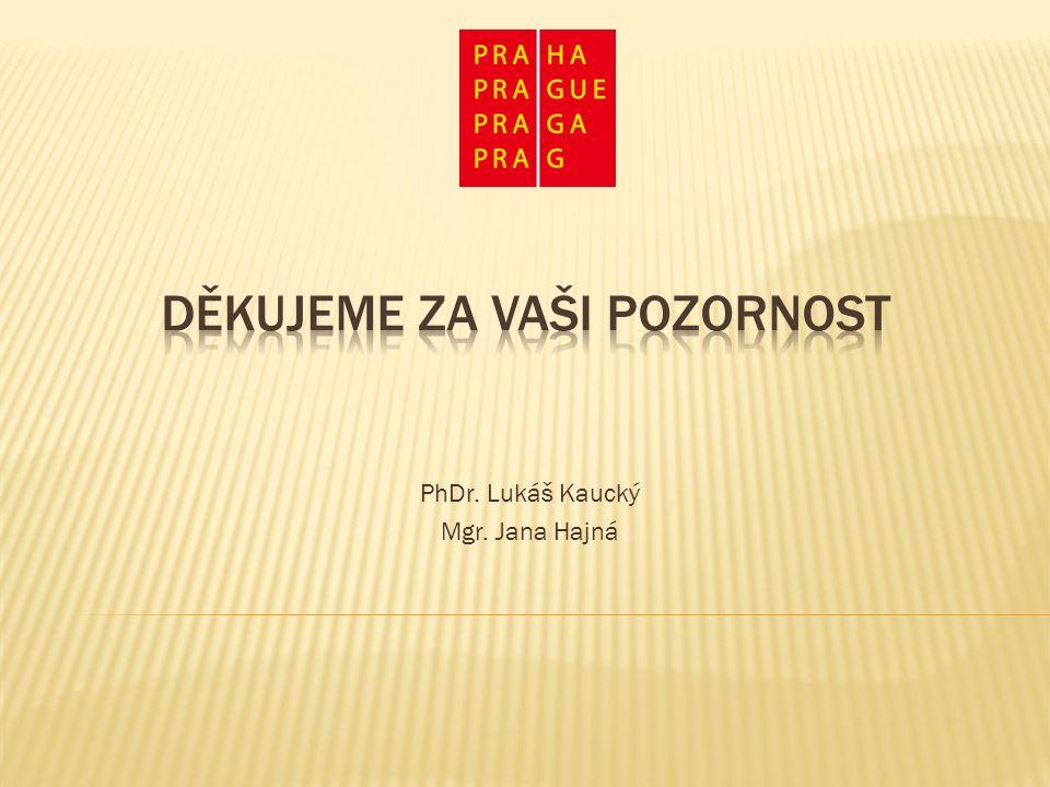 PhDr. Lukáš Kaucký Mgr. Jana Hajná
