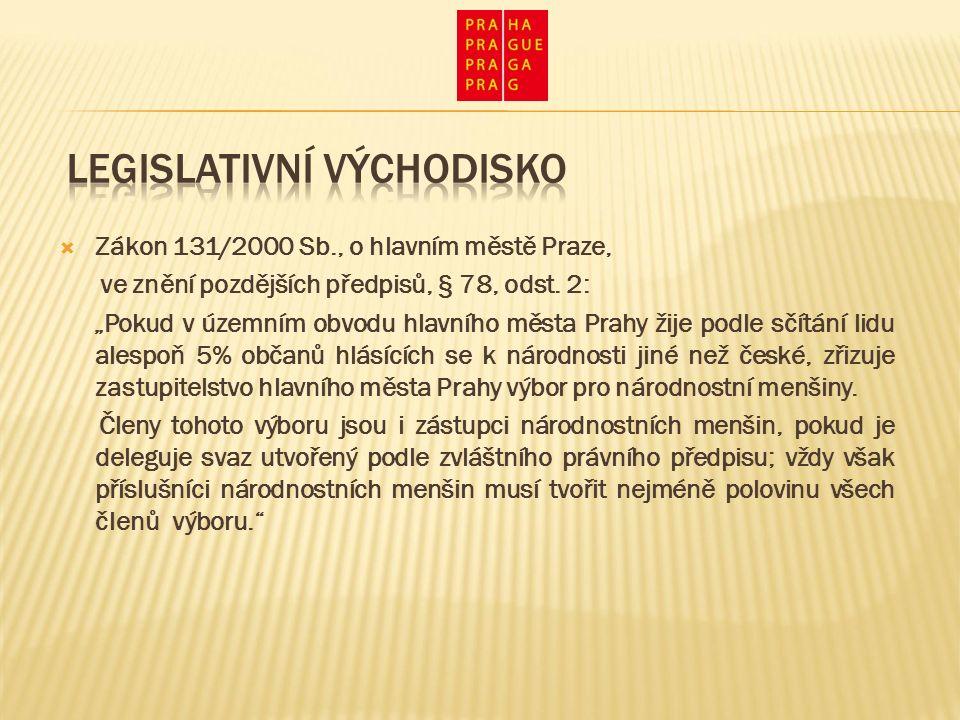  Zákon 131/2000 Sb., o hlavním městě Praze, ve znění pozdějších předpisů, § 78, odst.