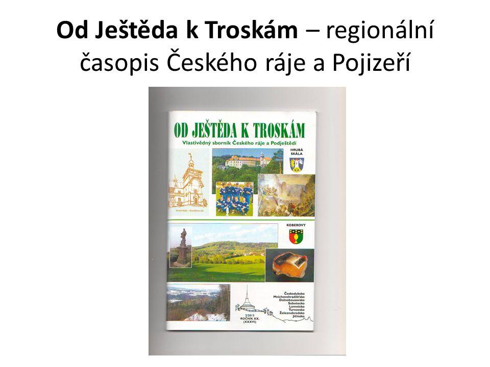 Od Ještěda k Troskám – regionální časopis Českého ráje a Pojizeří
