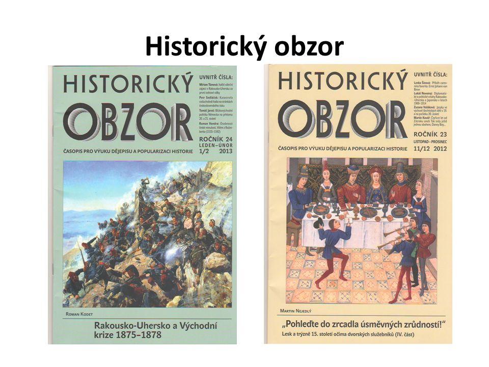 Historický obzor