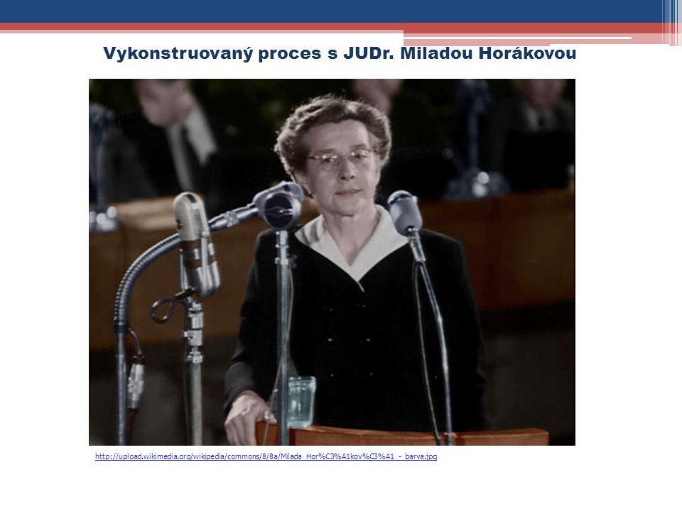 Vykonstruovaný proces s JUDr. Miladou Horákovou http://upload.wikimedia.org/wikipedia/commons/8/8a/Milada_Hor%C3%A1kov%C3%A1_-_barva.jpg