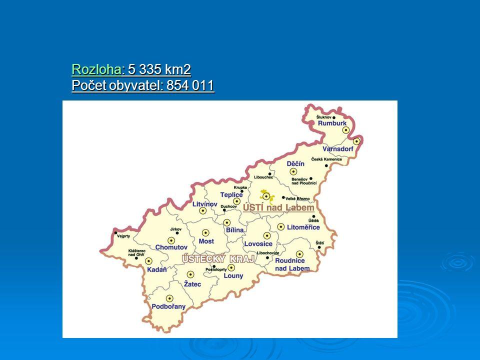 RozlohaRozloha: 5 335 km2 Počet obyvatel: 854 011 Rozloha