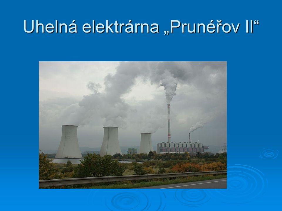 """Uhelná elektrárna """"Prunéřov II"""""""