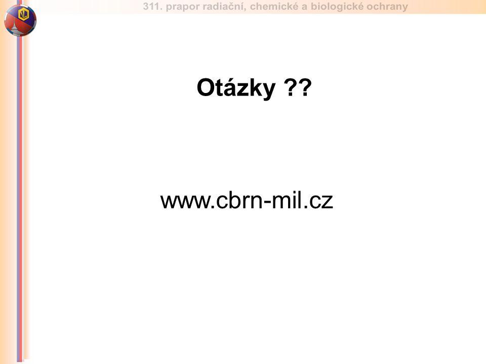 Otázky ?? www.cbrn-mil.cz