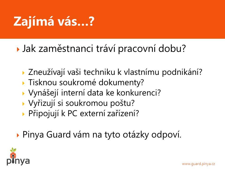  Co vám Pinya Guard přinese.