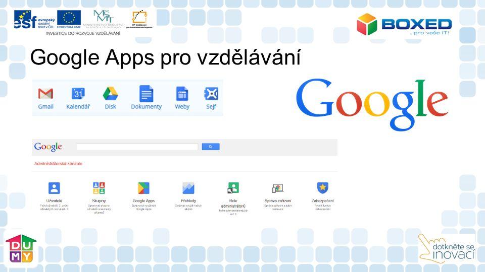 Google Apps pro vzdělávání