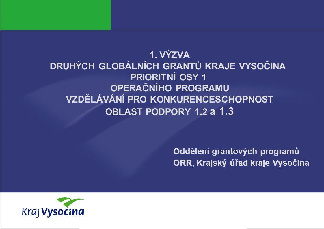 Tereza Křížová Lucie Havlíčková 22 4.května 2011 Specifická kritéria platná pro 1.