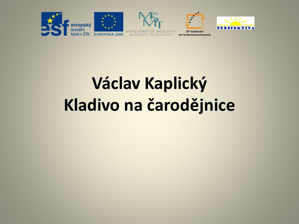 Václav Kaplický Kladivo na čarodějnice