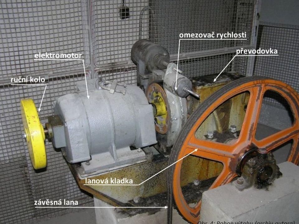 vodítko kabiny (T profil) závěsná lana Obr. 5: vodítko kabiny(archiv autora)