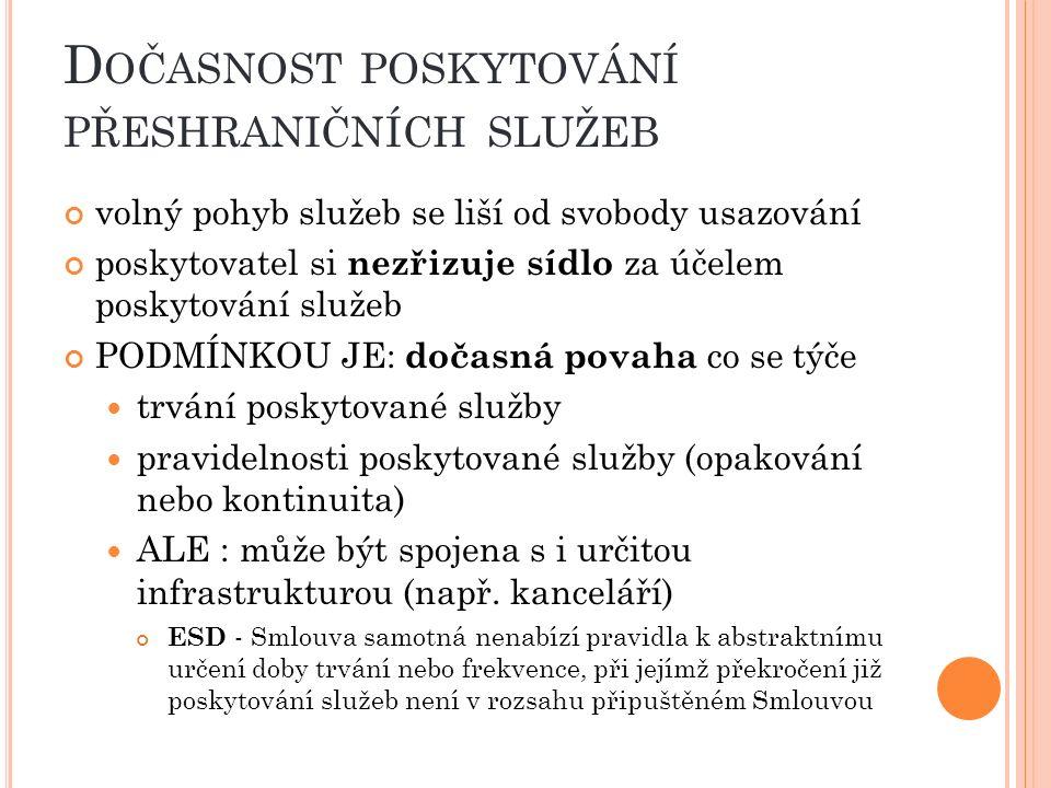 O MEZENÍ POHYBU KAPITÁLU A PLATEB ( ČL.58 ODST.