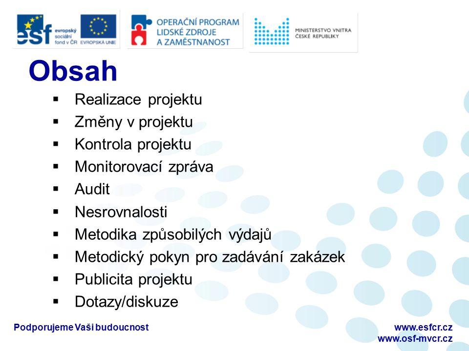 Projektová část Bc.Jana Hrazdilová Ing.