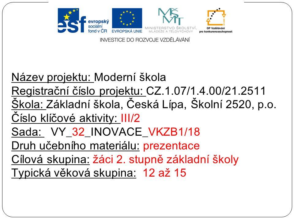 Předmět: výchova ke zdraví Ročník: žáci 2.