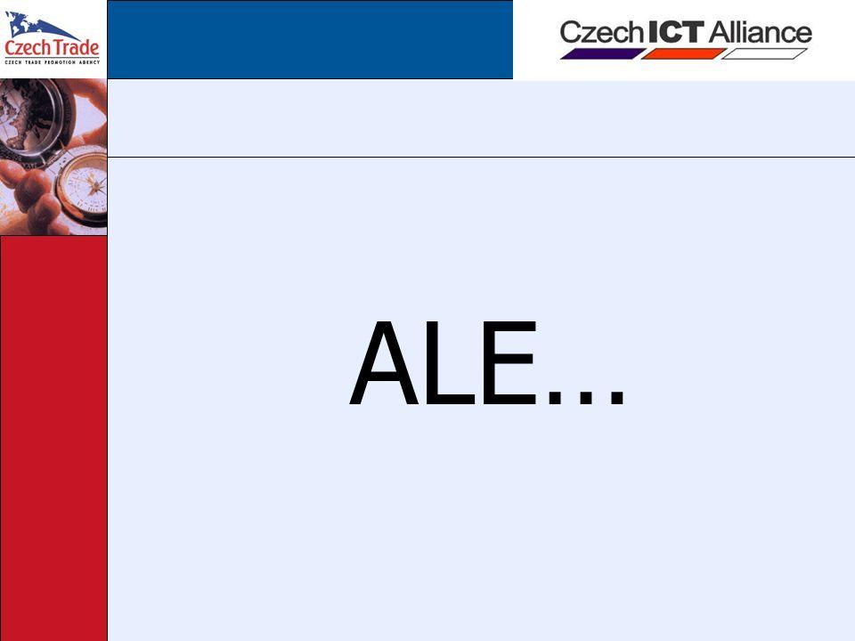 Realizované aktivity 3 Únor 2006 – delegace českých ICT firem na mezinárodní konferenci iConVienna (bezplatná účast pro členy - jinak cena 1500 Euro) a možnosti vystavování + 2 prezentace o českém ICT, Alianci únor 2006 – příprava prezentace pro seminář CzechTrade v Paříži Březen 2006 – Národní den na veletrhu CeBIT na podporu českého ICT, 3,5 hodinový prezentační blok + společný stánek členských firem Aliance Březen 2006 – prezentace Czech ICT Alliance na setkání s řediteli zahraničních kanceláří CzechTrade Březen 2006 – přijetí delegace holandských studentů Executive MBA, kteří chystají práci na téma feasibility studie outsourcingu do České republiky
