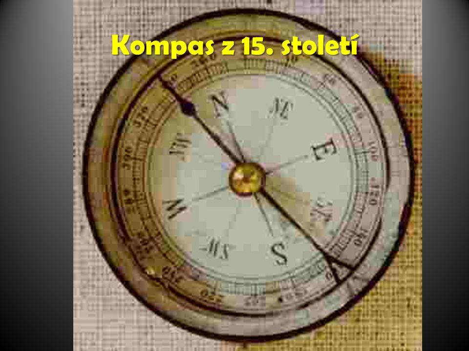 Kompas z 15. století