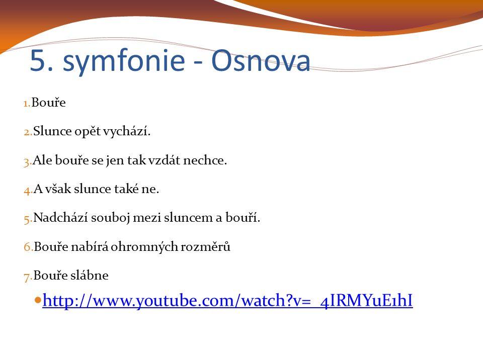 5.Symfonie - Příběh ● 0,00 – Je tu silná bouře.
