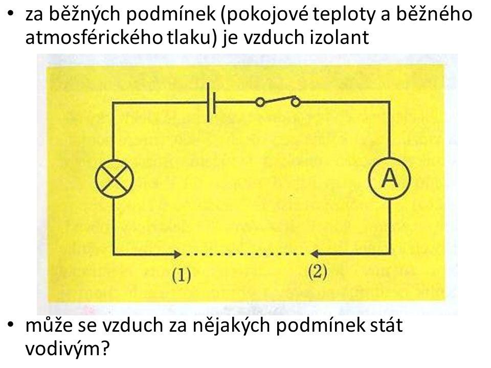 Závěr: 1.jiskrový elektrický výboj 2.elektrický oblouk 3.elektrický výboj ve zředěných plynech elektrický proud v plynech je tvořen usměrněným pohybem volných iontů a elektronů