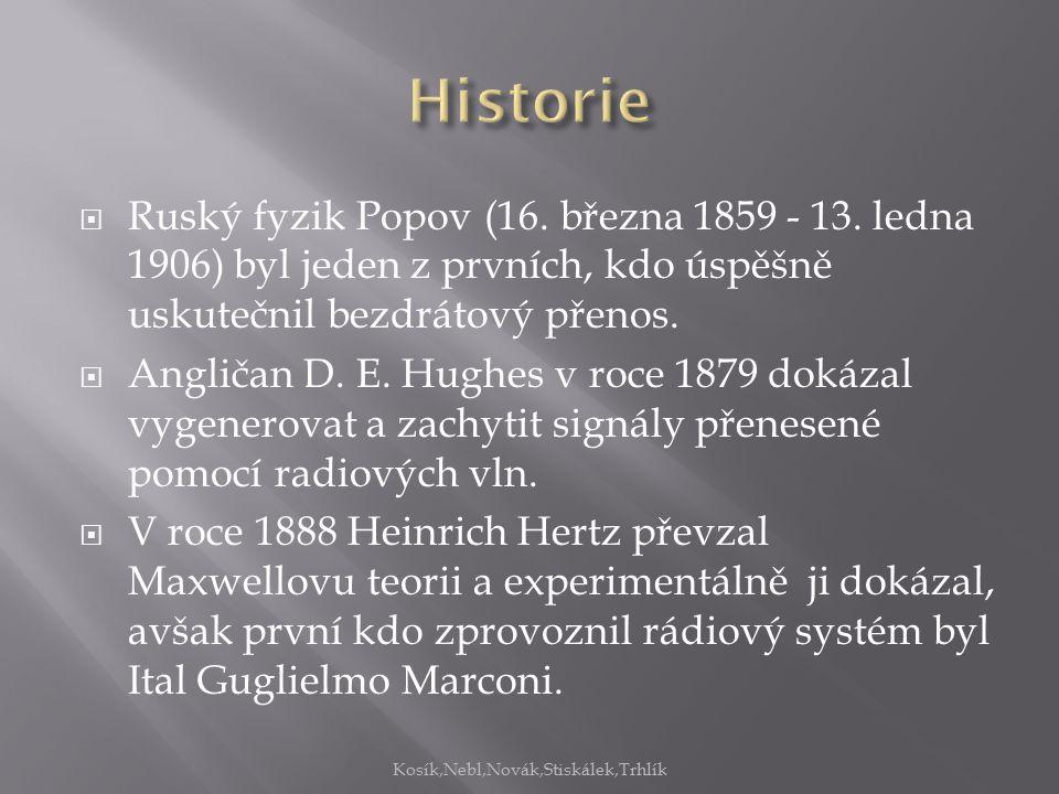  Ruský fyzik Popov (16. března 1859 - 13.