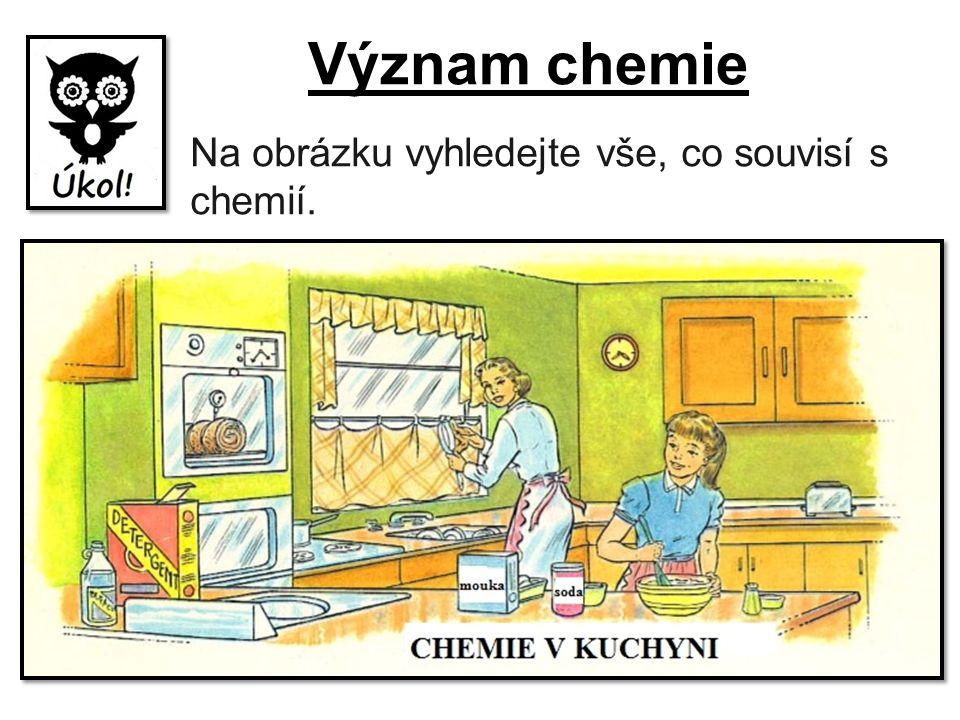 Proměňme kuchyň v chemickou laboratoř.Pokus v žádném případě nezkoušíme doma.