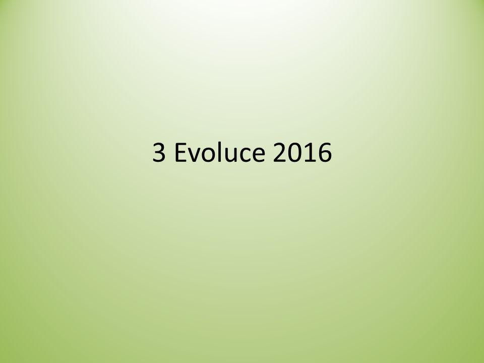 3 Evoluce 2016