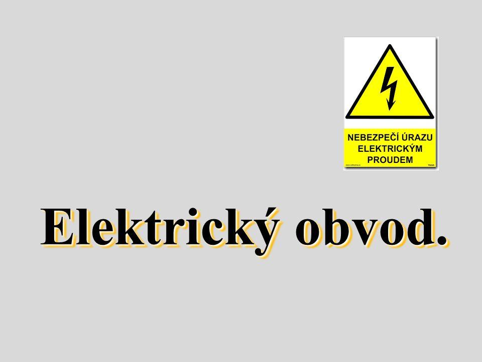 Elektrický obvod.
