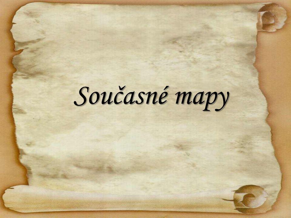 Současné mapy