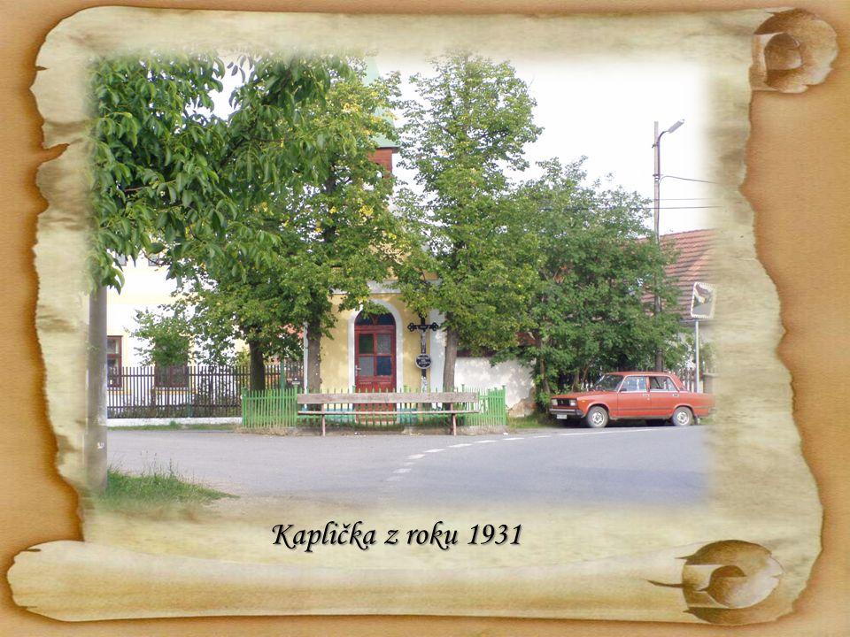 Kaplička z roku 1931