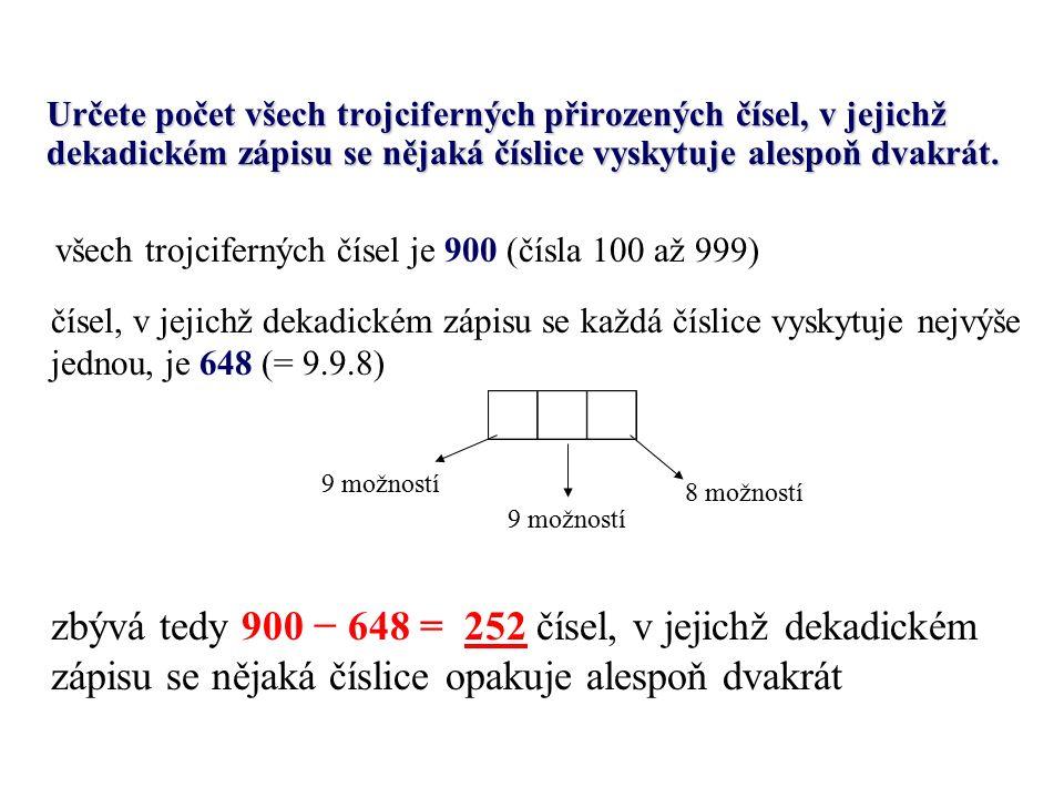 Ve třídě je 30 studentů, z nichž se 11 učí rusky a 7 německy.