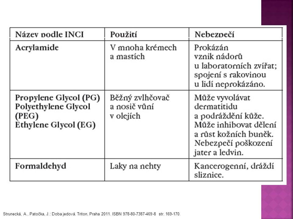 Strunecká, A., Patočka, J.: Doba jedová. Triton, Praha 2011. ISBN 978-80-7387-469-8 str. 169-170.