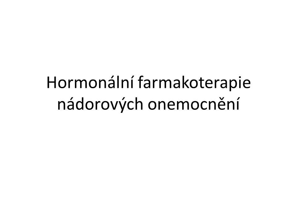 Hormonální farmakoterapie nádorových onemocnění