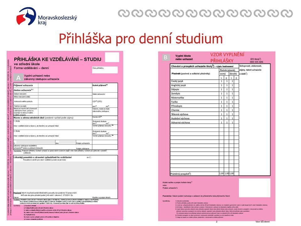 Zavedli jsme systém environmentálního řízení a auditu Přihláška pro denní studium