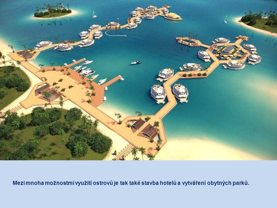 ORSOS ostrovy mohou být spojeny dohromady, čímž lze rychle a snadno vytvářet větší ostrovní skupiny, skýtající velkorysý prostor pro rekreační aktivit