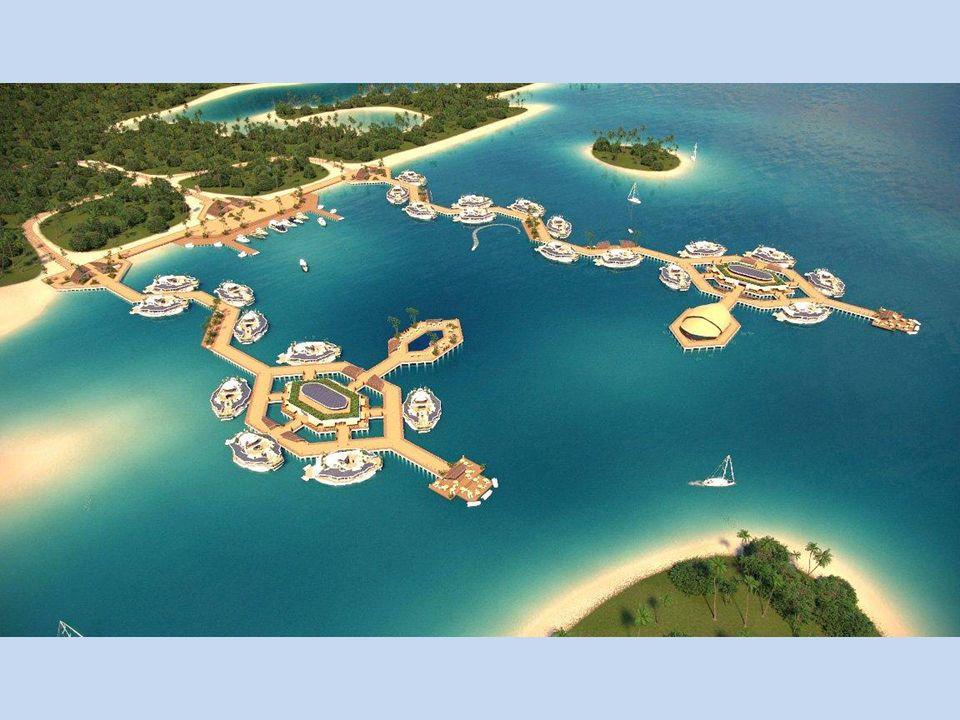 Mezi mnoha možnostmi využití ostrovů je tak také stavba hotelů a vytváření obytných parků.