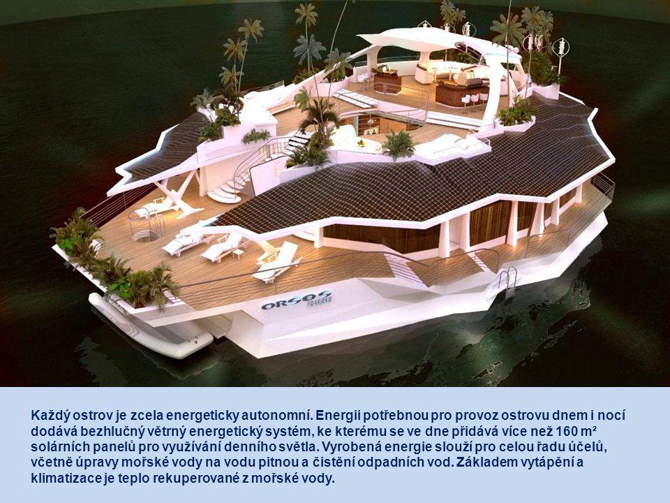 Každý ostrov je zcela energeticky autonomní.