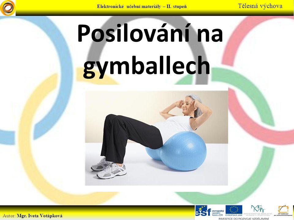 Elektronické učební materiály - … stupeň Předmět Elektronické učební materiály – II.