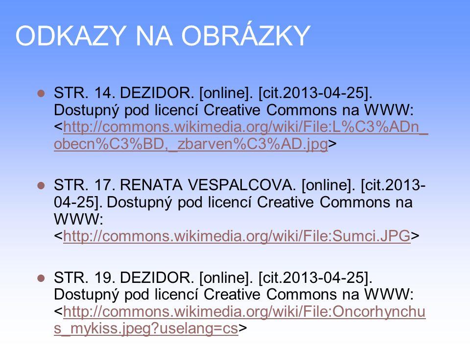 ODKAZY NA OBRÁZKY STR. 14. DEZIDOR. [online]. [cit.2013-04-25].